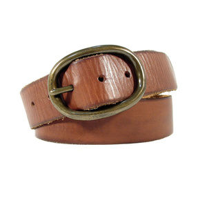 MOSSIMO Vintage Style Distressed Leather Belt MINT